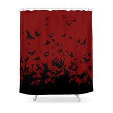 An Unkindness Of Ravens Shower Curtain Waterproof Bathroom Polyester Fabric CurtainChina