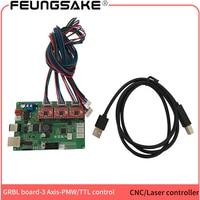 USB 3axis DIY carving machine control board,cnc GRBL arduino controller PMW Laser engraver control board Driver Board Controller