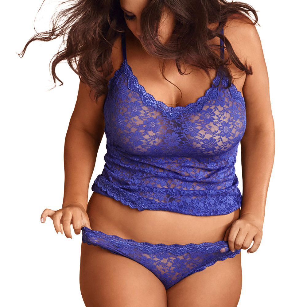 Lace Lingerie Sleepwear Set