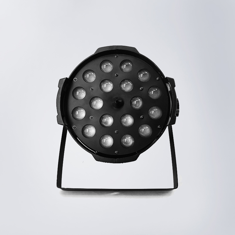 LED Zoom Par 18x12W RGBW Lighting Lamp for Disco Wedding Party Lamp Remote Control 4 in 1 Zoom DMX LED Par Light