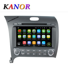 1024*600 Car Radio 2013 Kia Cerato Forte K3 Autoradio 2din GPS Navigation Android 5.1.1 System with CD/DVD Cassette Player
