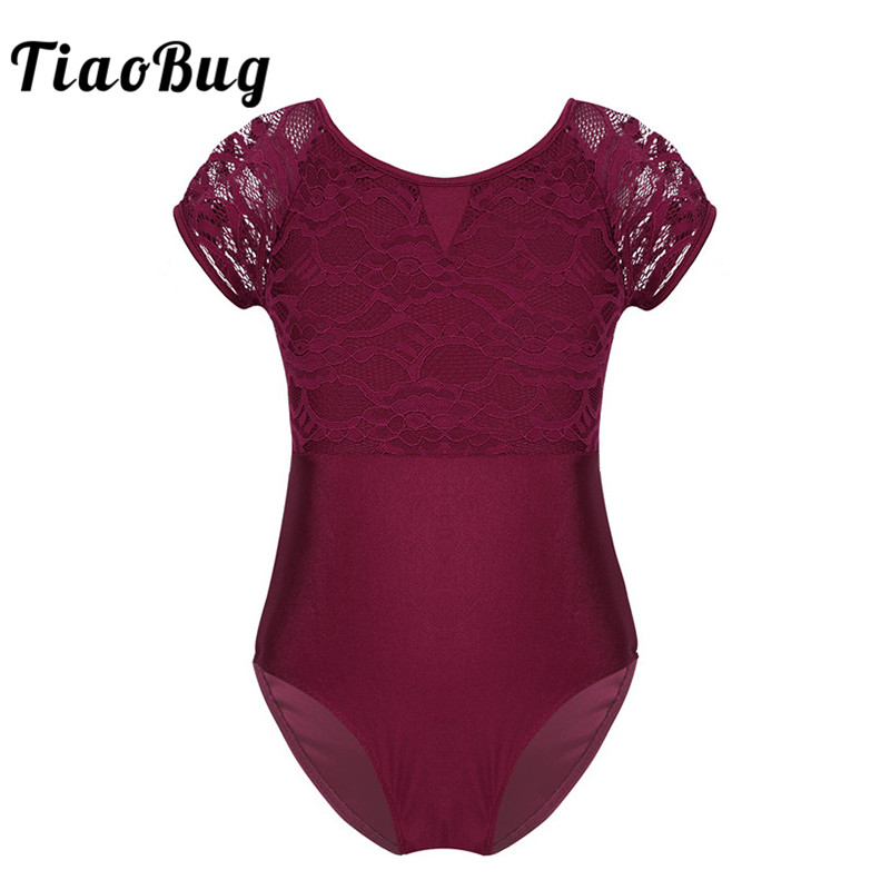 tiaobug-girls-short-sleeve-floral-lace-cutout-professional-font-b-ballet-b-font-dance-leotard-child-gymnastics-leotard-kids-ballerina-bodysuit