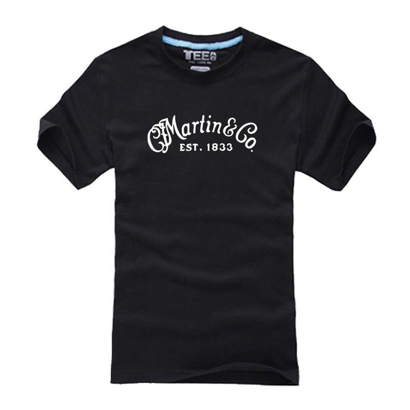 MUSIC MARTIN /& CO Guitar Logo 2019 Long Sleeve men/'s t-shirt S-5XL BLACK