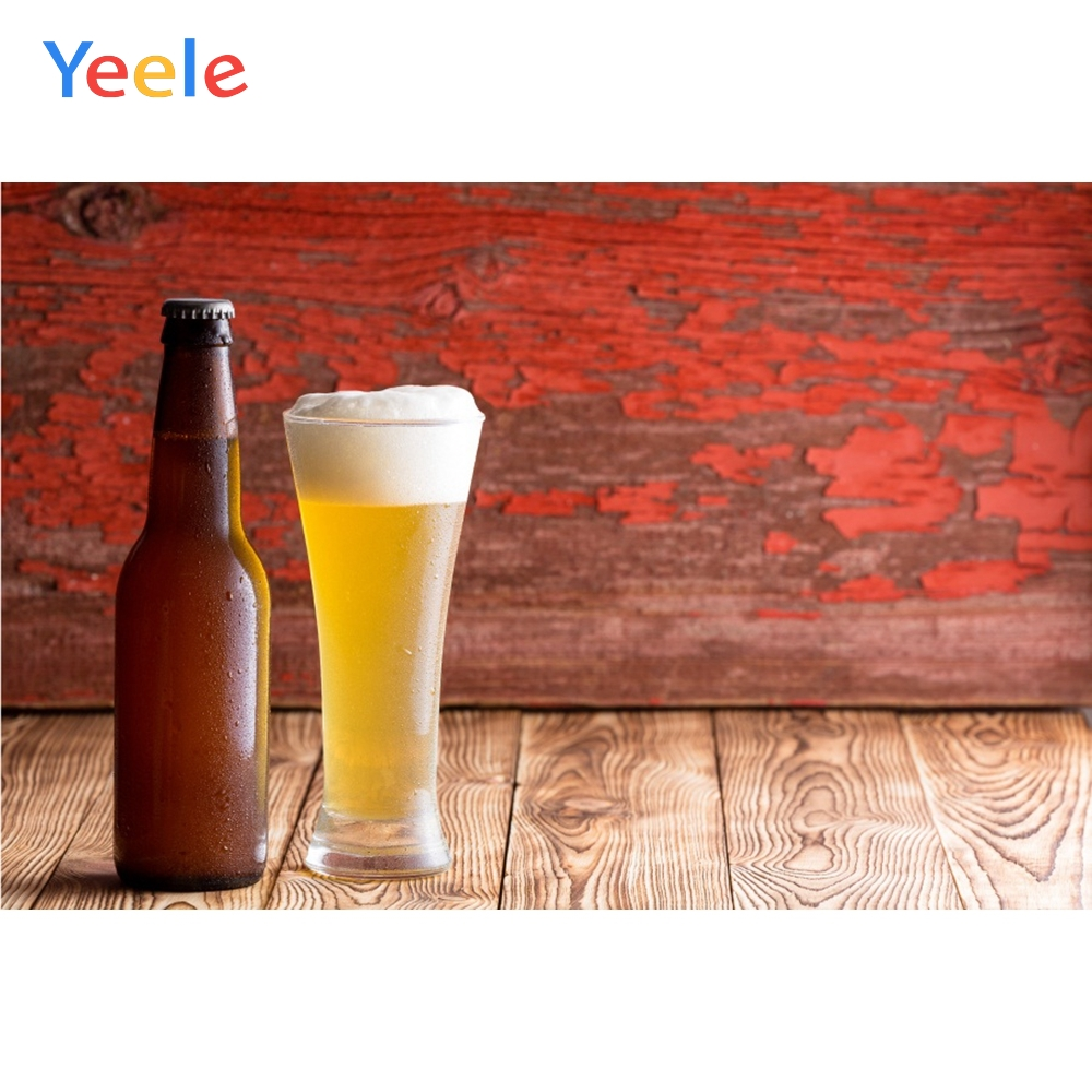 Yeele Oktoberfest Party Photocall Grunge Wood Beers Photography Backdrops Personalized Photographic Backgrounds For Photo Studio in Background from Consumer Electronics