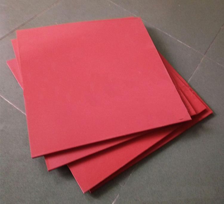 Tampon en Silicone 16 x 20 pour transfert d'encre de Sublimation de T-shirt de Machine de presse à chaud plate 16*20
