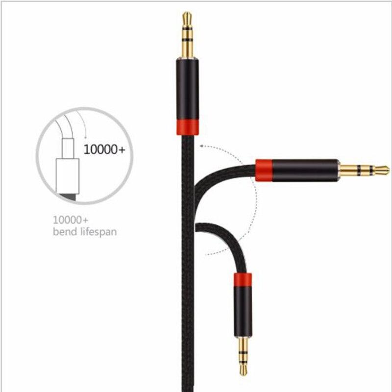 Lungfish 3,5mm Aux Audio Kabel Stecker stecker Hilfs Kabel Kopfhörer ...