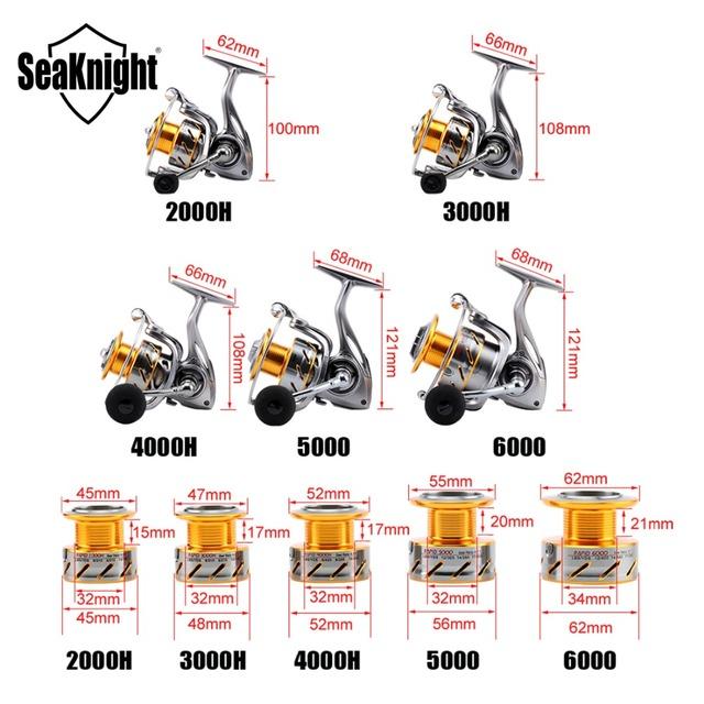 SeaKnight Spinning Fishing Reel 11BB Saltwater Wheel.