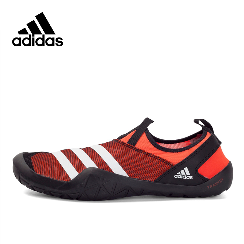 цена на Original New Arrival Official Adidas Climacool JAWPAW Slip On Men's Aqua Shoes Outdoor Sports Sneakers