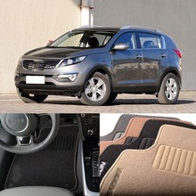 Carpet Kia Sportage Floor-Mats Premium Anti-Slip Nylon for 3pcs Auto-Fabric