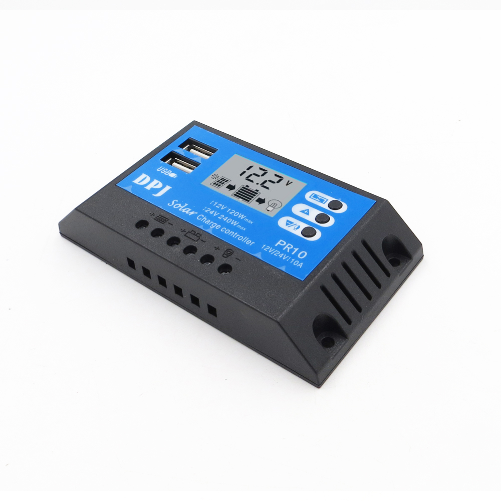 Battery Charge Controller 24V 12V 10/20/30/60/80A Auto Solar Panel PWM LCD Display Solar Collector Regulator dual USB OutputBattery Charge Controller 24V 12V 10/20/30/60/80A Auto Solar Panel PWM LCD Display Solar Collector Regulator dual USB Output