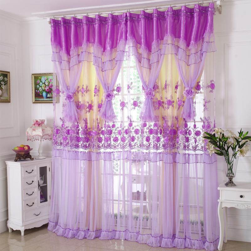 custom curtains Korean high-grade three-dimensional embroidery lace curtains living room bedroom cloth sheer curtain tulle E275custom curtains Korean high-grade three-dimensional embroidery lace curtains living room bedroom cloth sheer curtain tulle E275
