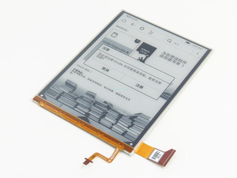 LCD Screen Display Panel E-Ink ED060KG1 (LF) C1-68 For Kobo Glo HD 2015 BQ Cervantes 3 FNAC Touch Light 2 Tolino Shine 2 eReader