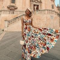 Vintage Summer Maxi Dress Women 2019 Bohemian Sexy Long Plus Size Dresses Sleeveless Elegant Beach Women Dress Vestidos Rode