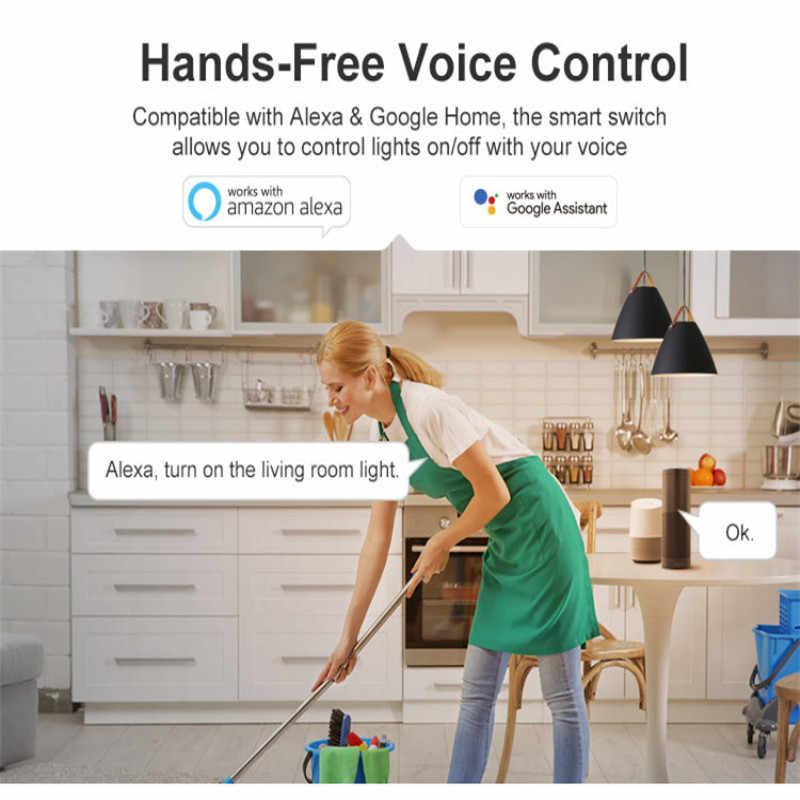 SONOFF RFR3 Thông Minh điều khiển Cơ Bản Công Tắc WIFI DIY Bộ điều khiển hẹn giờ làm việc với Alexa Google nhà IFTTT HomeKit điều khiển bằng EweLink