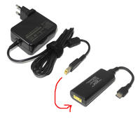 20V 3.25A 65W Ac Adapter for Lenovo X1 Carbon G400 G500 Dc USB Type C Power Adapter Charger Converter for Macbook Asus Laptop