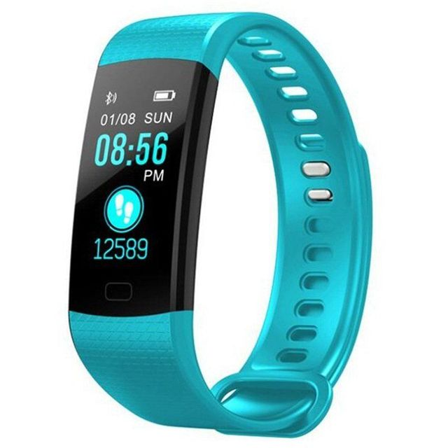 Fitness Activity Heart Rate Tracker Blood Pressure wristband Waterproof band Pedometer for IOS Android 5