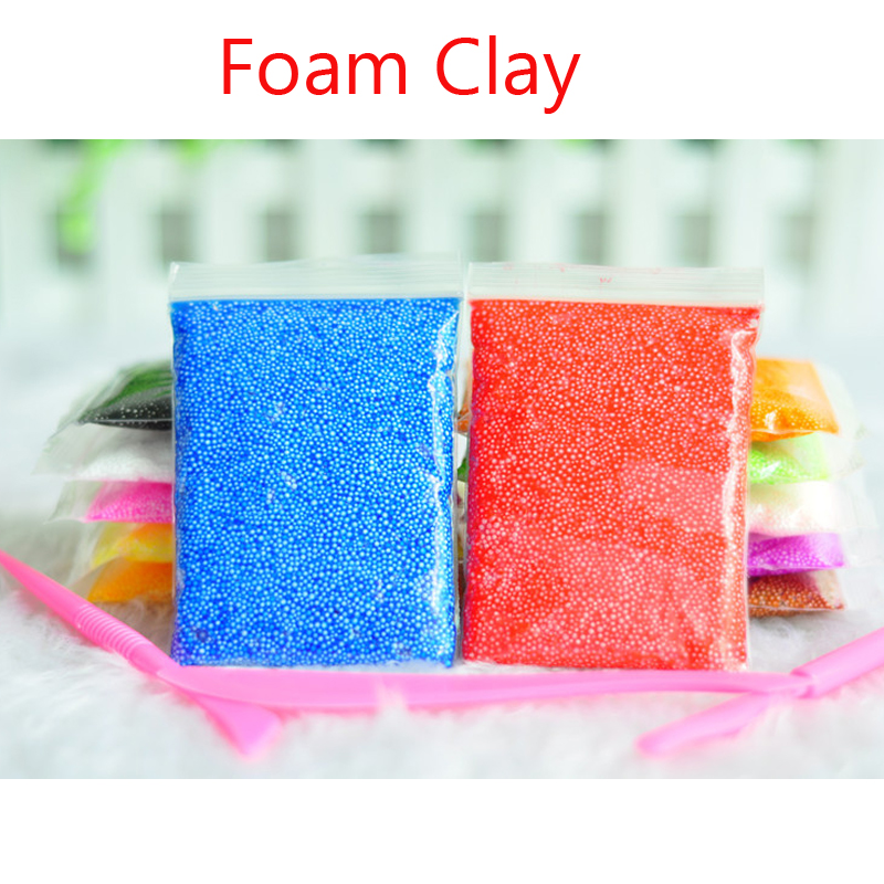 AYA Slime Play Foam Colors Light Soft Colored Modeling