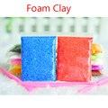 Aya slime play cores espuma luz colorido suave polymer clay playdough ar seco massa de modelar plasticina mágica magnética caçoa o presente