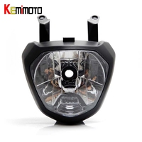 KEMiMOTO MT 07 FZ 07 MT07 Front Head Light Headlight For Yamaha MT 07 FZ 07 2014 2017 Motorcycle Lighting Headlamp Replacements