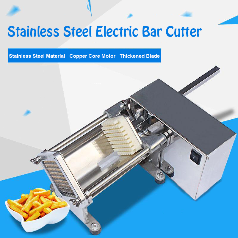 Small Electric Fries Cutting Machine Chips Cutter Potato/Melon Bar Cutter JG-01