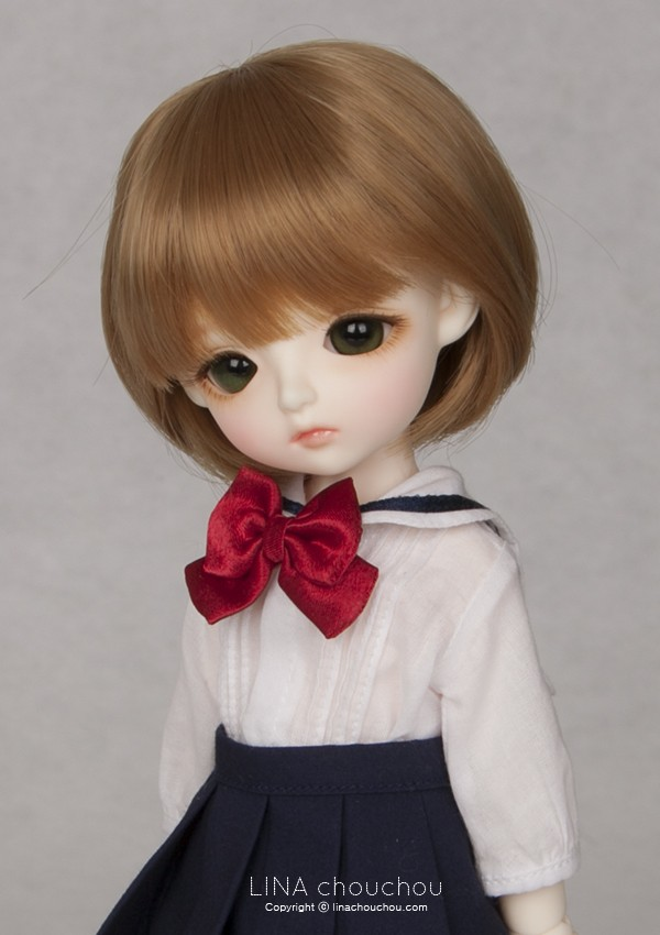 luodoll  BJD SD doll doll baby girl lina chouchou Angelic 6 points (free delivery eye makeup}Free shipping