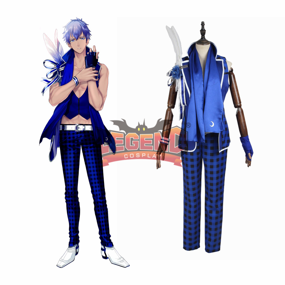 Anime B-project Kodou Ambitious MooNs Tatsuhiro Nome Cosplay Costume Coat adult costume halloween costume custom made full set