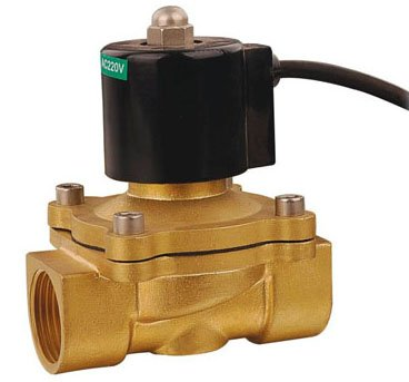 ФОТО Free Shipping G1/2'' IP68 Under Water Solenoid Valve Waterproof Type Brass 2W160-15-G Standard Voltages 5pcs Per Lot
