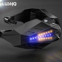LED Motorcycle Handguards Handle Protection Motocross for yamaha xj6 bmw k1200s honda goldwing gl1800 benelli 600 yamaha r15 v3