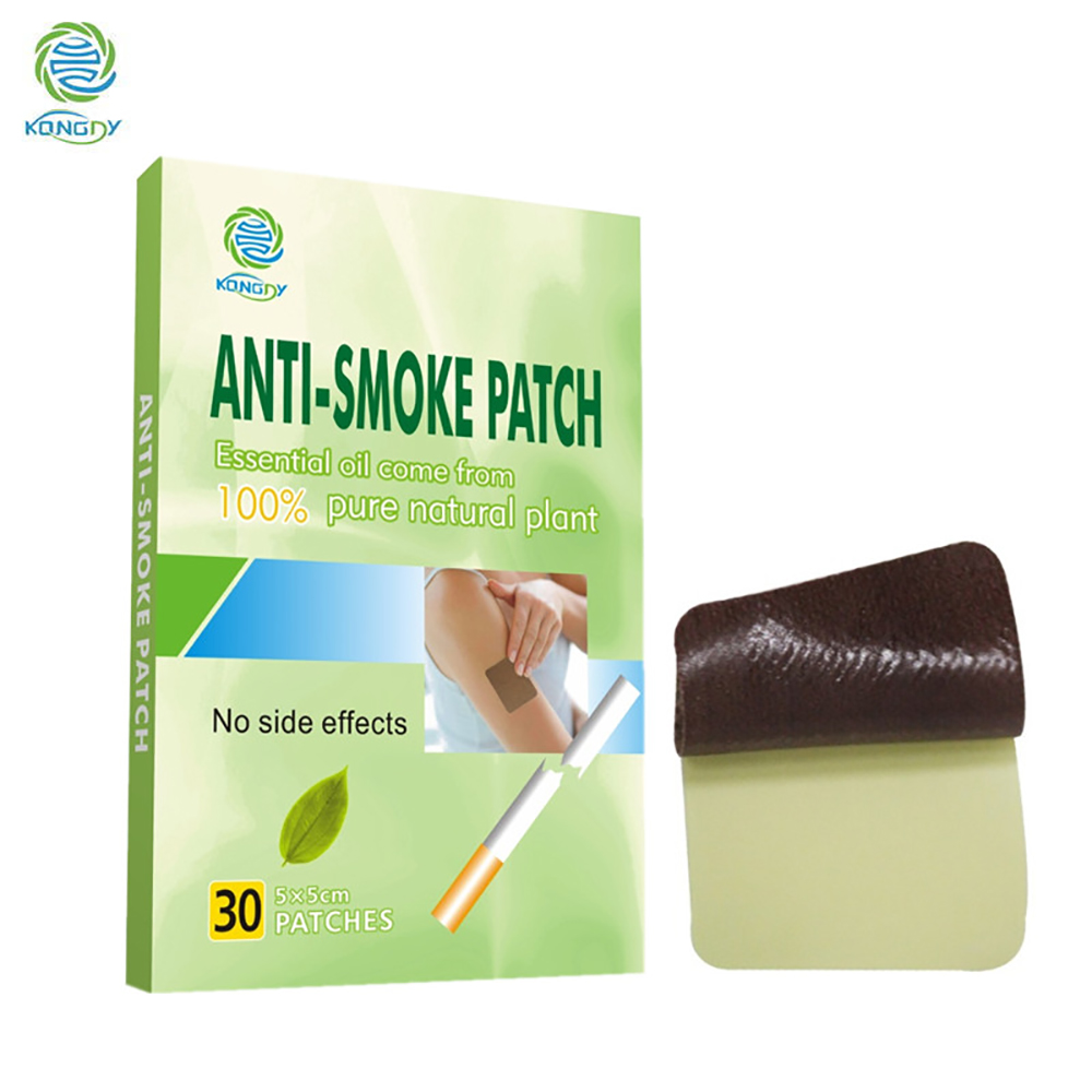 KONGDY Anti Smoke Patch 100% Natural Ingredient 30 Pcs/Box Smoking Cessation Pad Natural Herbal to Give Up Cigarette Plaster 2