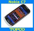 Первоначально открынный Nokia C7 мобильный телефон Nokia C7-00 WIFI GPS 8MP 3 г GSM смартфон 8 ГБ встроенной памяти бесплатная доставка
