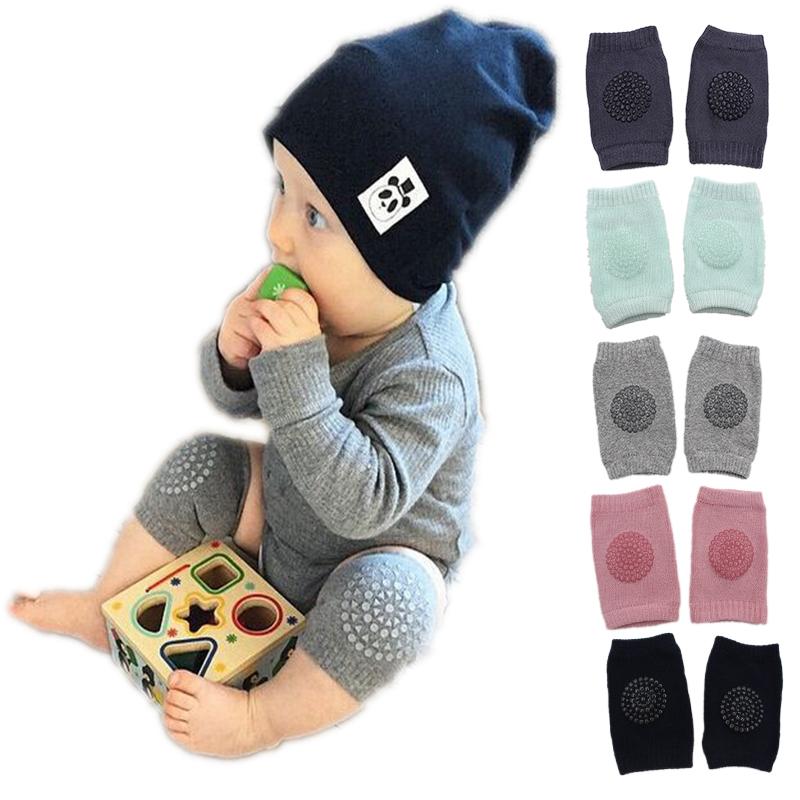 1 Pair baby knee pad kids safety crawling elbow cushion infant toddlers baby leg warmer  ...
