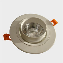 Newest White s hell 30W COB Downlight Dimmable LED Downlight Recessed LED Down Lights Warm Cold White AC110V/AC220V hot sale up and down 40w cob led downlight ac110v 240v cold white warm white ce