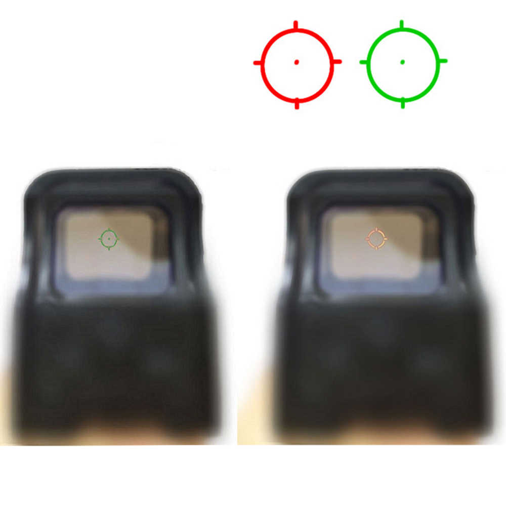 WIPSON 553 Holographic Sight Reflex Sight Red Dot Optics Rifle Scope Sniper Scope Voor Airsoft Air Guns Met 20mm rail