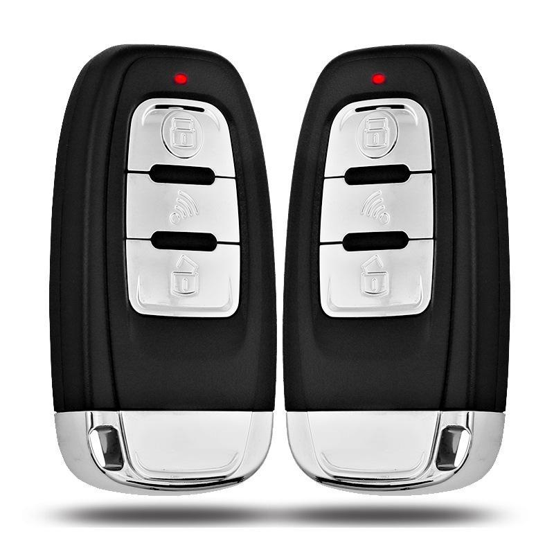 Clé intelligente PKE alarme de voiture démarrage du moteur arrêt bouton poussoir capteur de choc système Intelligent de démarrage à un bouton accessoires Auto - 3