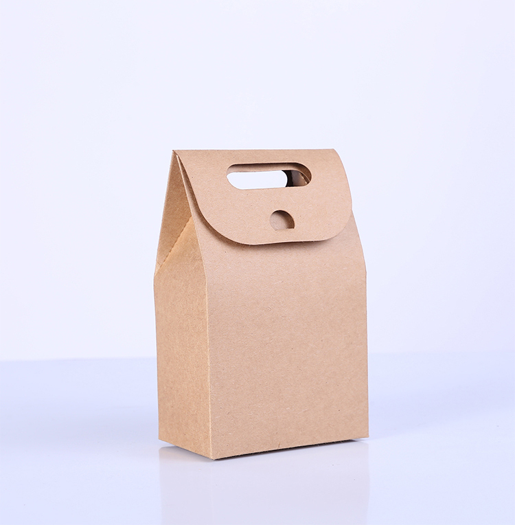 2018 wholesale 500cs/lot 350g kraft paper bags for cookies,food packing gift shopping ba ...