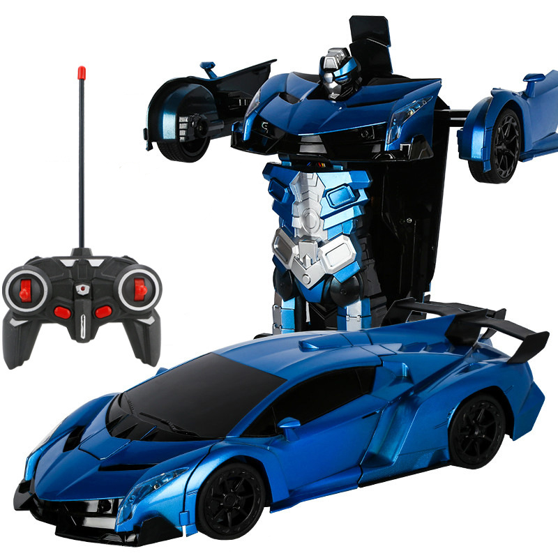 Image 4 - Remote Control Car RC robot 2 in 1 wireless RC deformation robot Models RC Car Driving Sports Transformation kids toy gift-in RC Cars from Toys & Hobbies