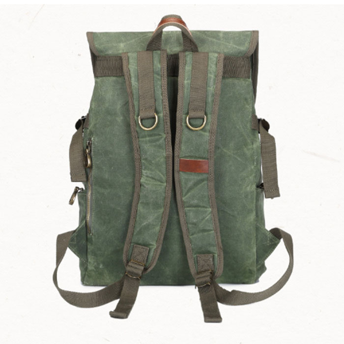Green army gray High Travel Black Canvas Teenagers khaki Bag Korean College Students capacity Men's Backpack Personality Computer Fashion Black afTwZT