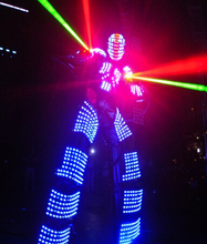 Free Shipping LED ROBOT SUIT