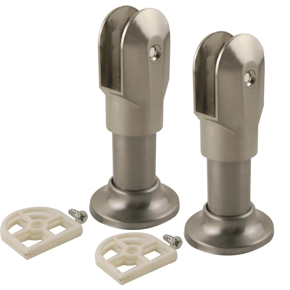 Bathroom Partition Brackets Commercial Universal Selfclosing - Bathroom partition brackets