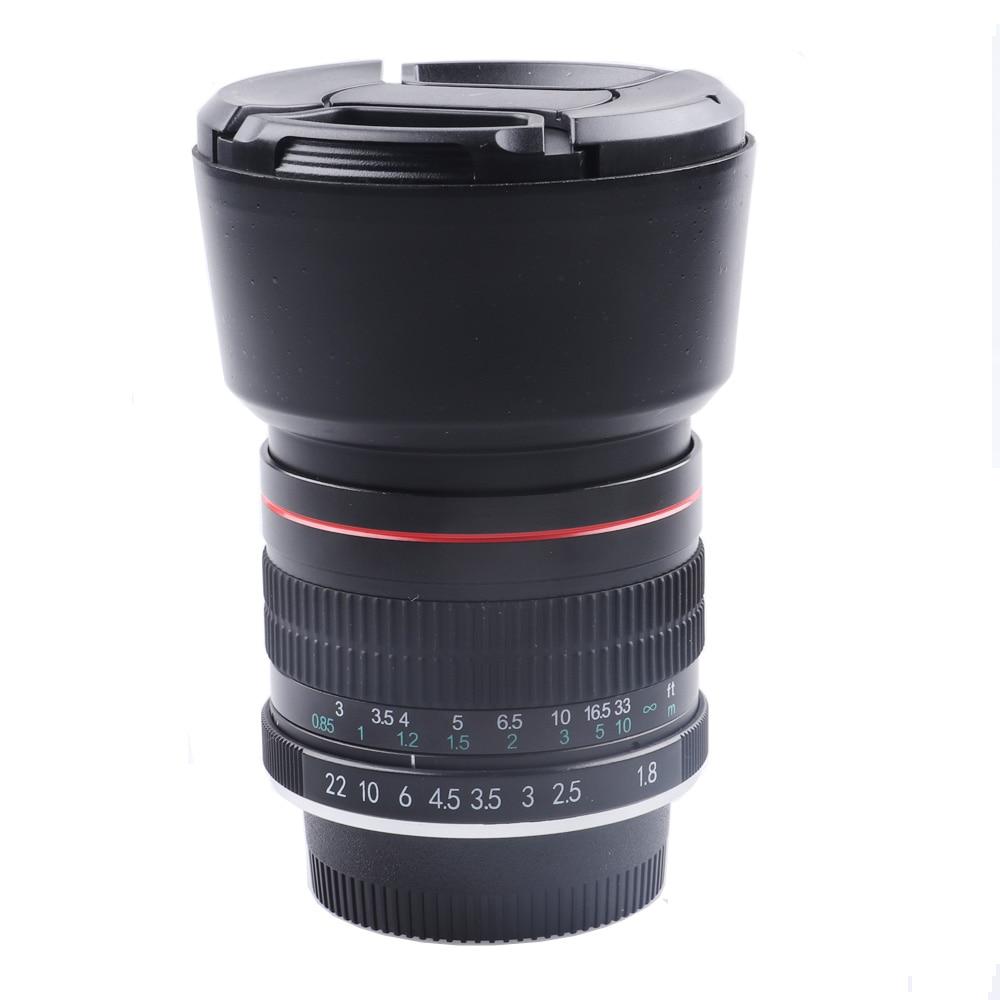 Lightdow 85mm F/1 8 Medium Telephoto Portrait Prime Camera Lens For Nikon  D4S D800 D600 D7000 D550 D3300 D3200 D50 D80 D90 Etc