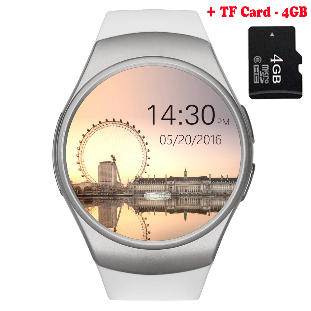 KW42 Bluetooth Smart Watch Phone Full Screen Support TF Card & SIM Card Smartwatch Heart Rate for Huawei nova 2 Plus nova 2 цена