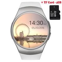 KW42 Bluetooth akıllı saat telefon Tam ekran desteği TF Kart ve SIM Kart Smartwatch Kalp Hızı için Huawei nova 2 Artı nova 2