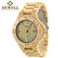 BEWELL Wood Watch Men Analog watch for Man Date Quartz Mens Watches Top Brand Luxury Wooden Relogio Masculino Reloj Mujer 023B