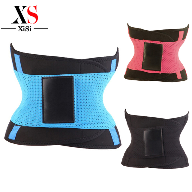 2016 Brand New Fashion Fit Waist Slimming Corset Flexible Waist Trainer Overbust Deu Magic Corset Black Red Blue Steel Bone