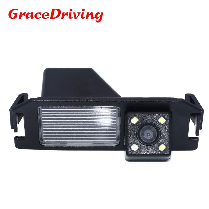 Auto Reverse Camera voor Hyundai Solaris (verna) Hatchback / Soul / Voor Hyundai I30 Backup Achteruitrijuitkijkspiegel Gratis verzending