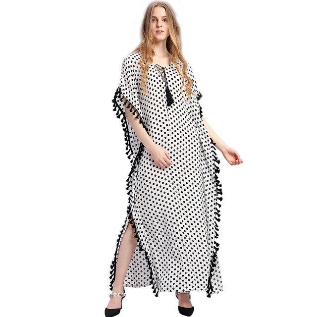 3707c849915 Women Summer African Ethnic Print Kaftan Maxi Dress 2018 Summer Loose  Vintage Boho Beach Long Dress tunic cover ups