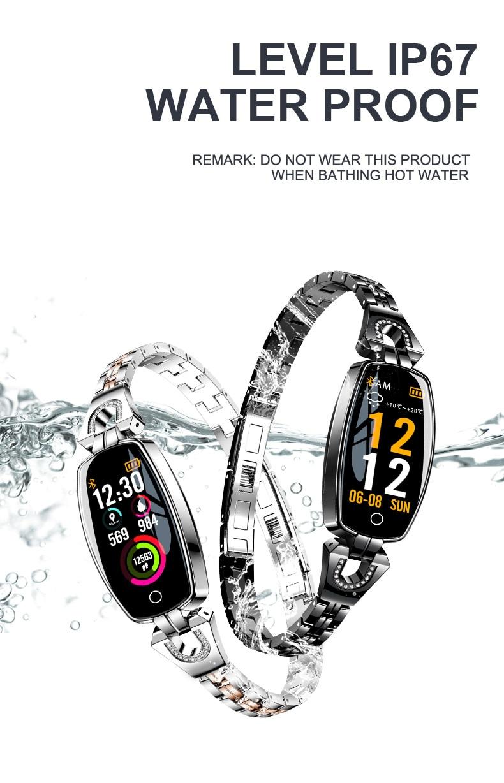 Detail Feedback Questions about LEMFO H8 Smart Watch Women