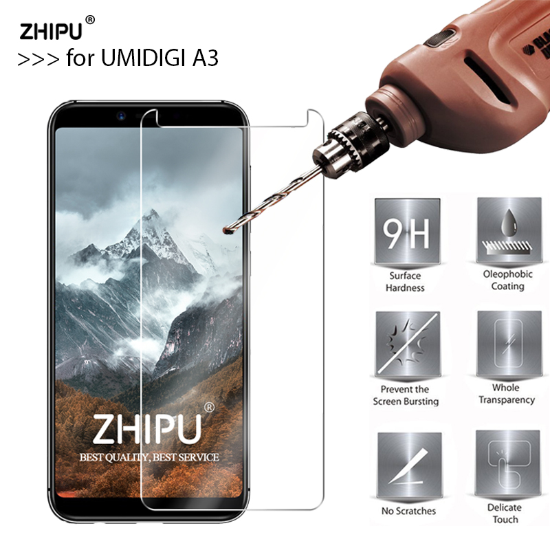 Tempered Glass For Umidigi A3 Glass Display screen Protector 2.5D 9H Premium Tempered Glass For Umidigi A3 Protecting Movie
