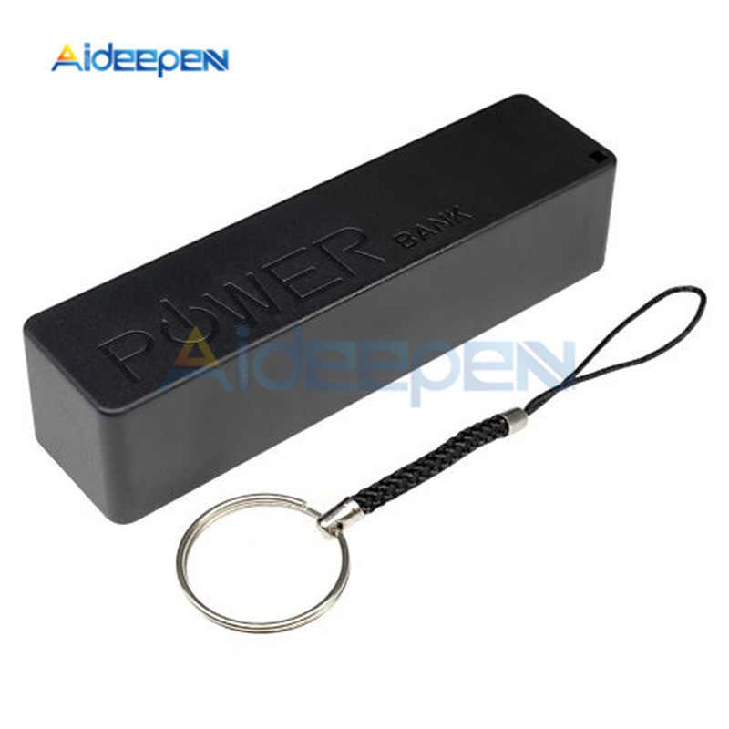 18650 แบตเตอรี่ USB Power Bank กล่อง DIY แบตเตอรี่ชาร์จกรณีสำหรับโทรศัพท์สมาร์ท MP3 1800 mAh/2200 mAh/2600 mAh/2800 mAh/3400 mAh