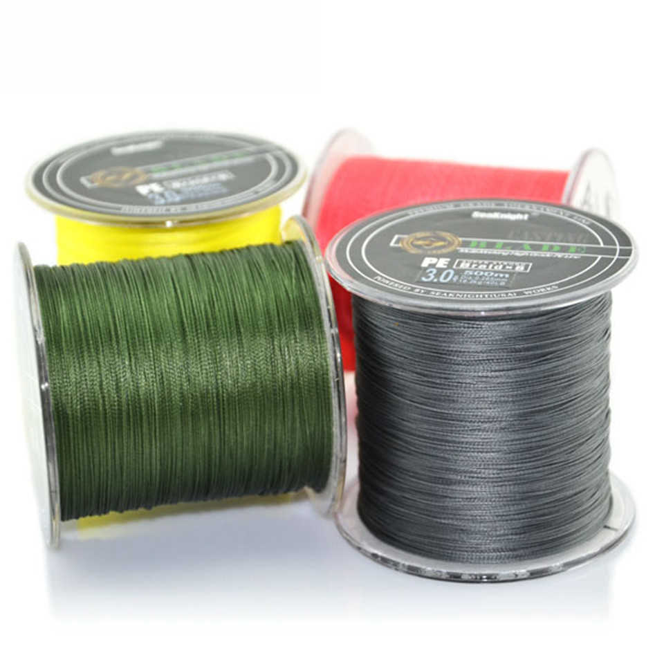 ФОТО 8 strands lines:500M pe braided fishing line Japan multifilament fishing Wire for all fishing 20lb 80lb 300LB TOP Quality strong